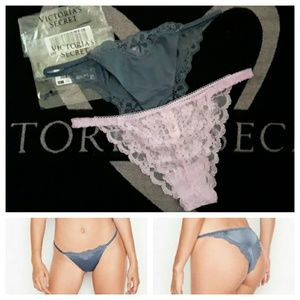Victoria's Secret Intimates & Sleepwear - VS itsy panties bundle (M) New